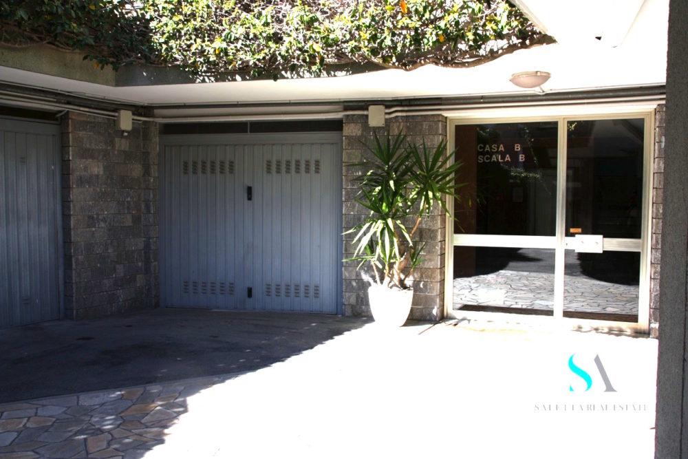 saletta SLT100 ingresso palazzo e garage
