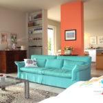 saletta SLT100 soggiorno con divani