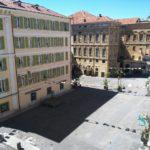 saletta SLT123 vista su Piazza Mameli 2