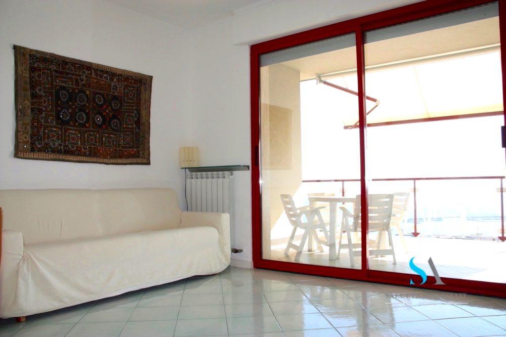 saletta SLB109 soggiorno con divano letto