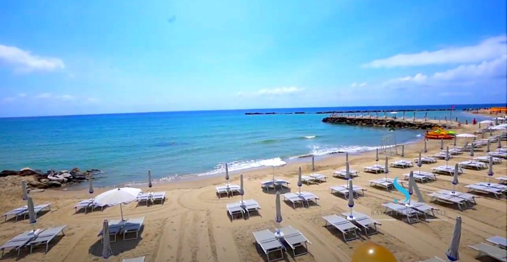 saletta SLT107 spiagge attrezzate sabbia Sanremo